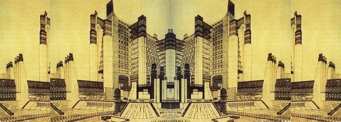 Antonio sant elia l architetto futurista che ispir for Architetto sant elia